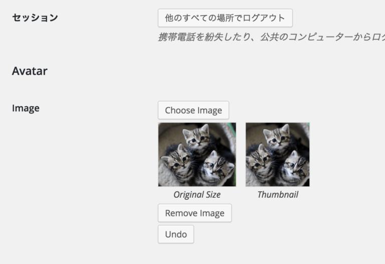 WP User Avatarでユーザー毎にプロフィール画像を設定しよう